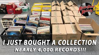 I just bought a 4,000 piece record collection!! screenshot 3