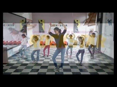 diwani mastani dance choreography for kids by Rockstar Academy Chandigarh