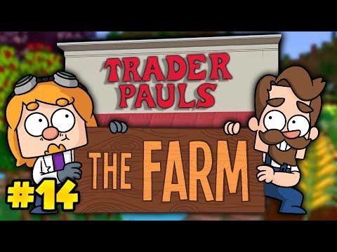 Minecraft The Farm #14 - Trader Paul's