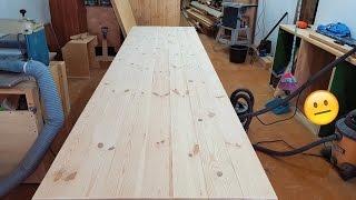 видео Деревянные столы для беседки