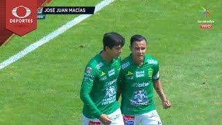 Gol de José Juan Macías |  Pumas 0 - 1 León | Clausura 2019 - J 8 | Televisa Deportes