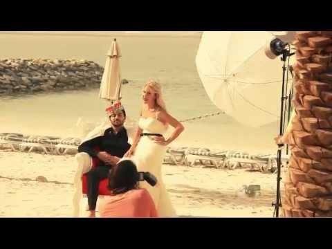 Behind the Scenes of Ahlan's Photoshoot with Nina Zandnia and Tariq Edrees