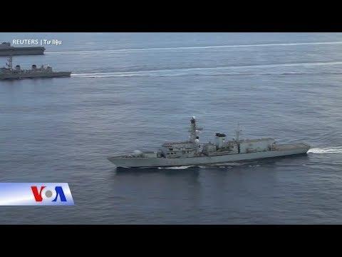 Truyền hình VOA 17/1/19: Mỹ, Anh lần đầu tập trận chung ở Biển Đông