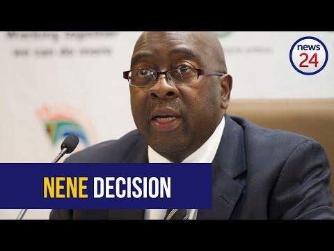 WATCH LIVE: Ramaphosa makes Nene announcement