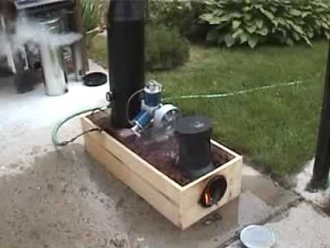 Lynx Rocket Stove Monotube Steam Boiler