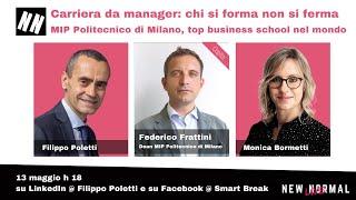 Dean del MIP Politecnico di Milano, Federico Frattini, a New Normal Live