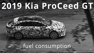 2019 Kia ProCeed GT, fuel consumption