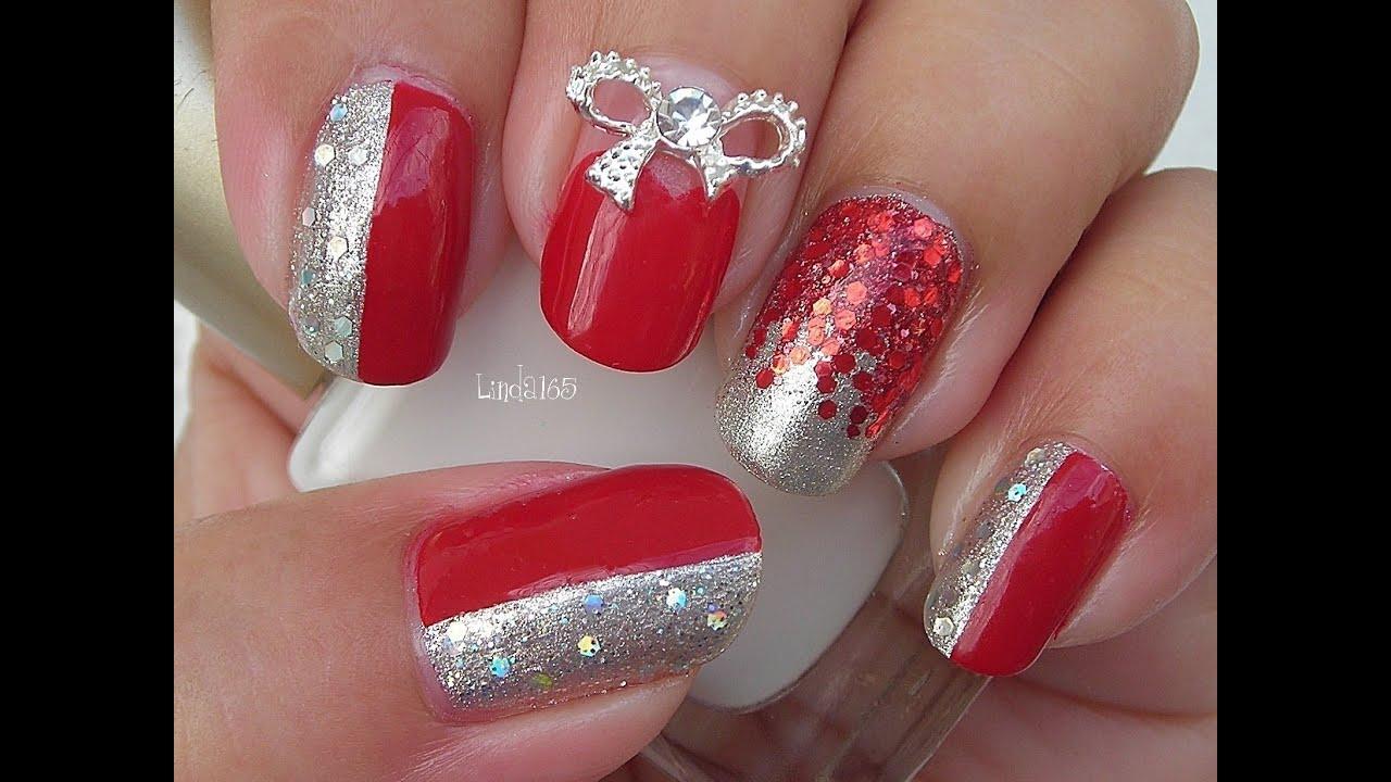 Nail art queen of glitter decoracion de uas youtube prinsesfo Images