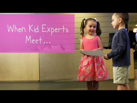 Kid Experts Brielle and Nate's Memorable Meeting