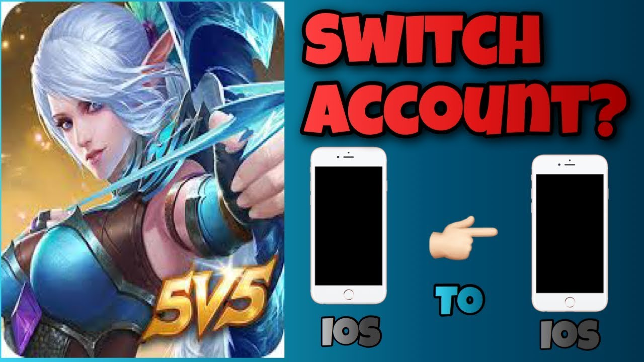 HOW TO SWITCH ACCOUNT! - IOS TO IOS! - MOBILE LEGENDS
