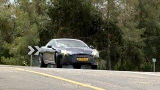 Aston martin rapide s review מבחן דרכים לאסטון מרטין ראפיד אס