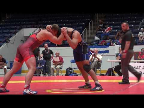 2016  CAN CUP FS86kg Morgan Smith (USA) vs Stefan Reichmuth (Switzerland)