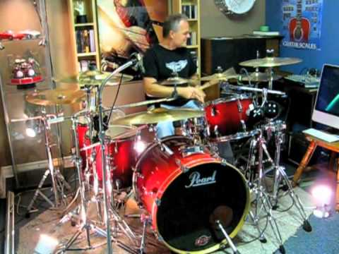 you shook me all night long acdc drum cover by domenic