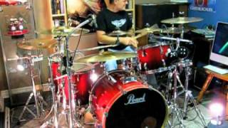 You Shook Me All Night Long - ACDC - Drum Cover by Domenic Nardone