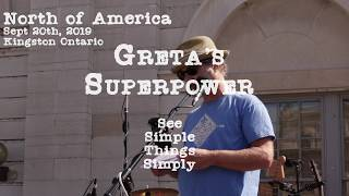Greta's Superpower Climate Rally Speech North of America Sept 20 2019