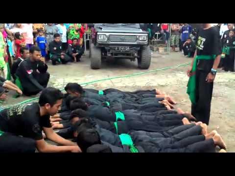 Pagar Nusa Lindesan Mobil