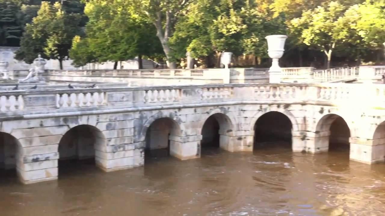Jardin de la fontaine a Nîmes le 08/09/2010 - YouTube