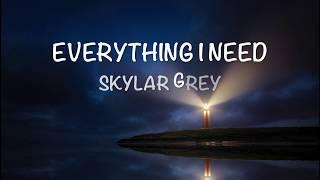 Aquaman Soundtrack | Everything I Need - Lyrics - Skylar Grey