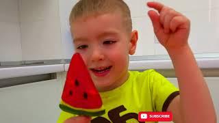 I Love Vegetables | Fruit&Veggie Songs for Kids | KORMOSIK Kids Song
