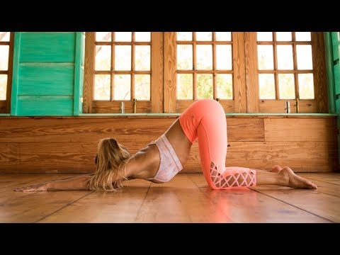 Yoga Practice to Combat Sitting: Open Your Chest, Stretch Your Shoulders Improve Your Posture