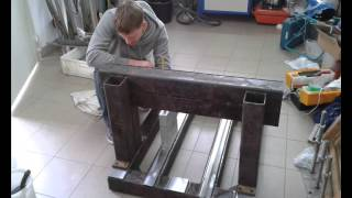 Budowa frezarki CNC  DIY CNC mill