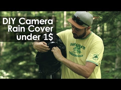 DIY Camera Rain Cover for under 1$
