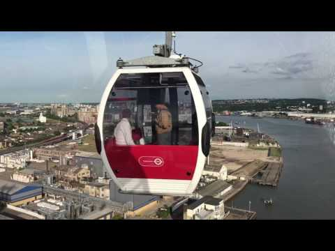 Emirates Airline Cable Car London June 2017