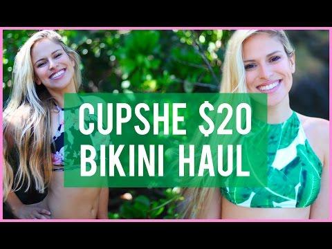 new-cupshe-bikini-haul-2017-+-review-+-try-on-photoshoot