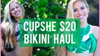 NEW Cupshe Bikini Haul 2017 + Review + Try On Photoshoot