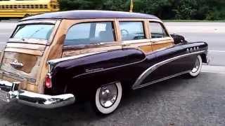 1952 Buick Roadmaster Estate Wagon Woodie Drive