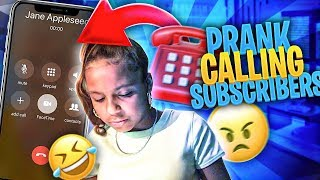 Prank Calling My Subscribers