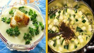 Кабачковый суп - просто находка все думают, что грибной, но нет — исключительно кабачки.