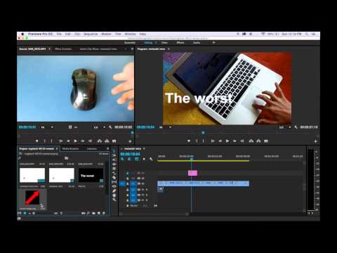 How to rotate an image in Premiere Pro