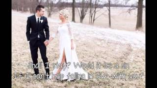 twenty one pilots - Can't Help Falling In Love [Lyrics]
