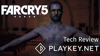 Far Cry 5 на максималках в FullHD 60 FPS. Playkey Tech Review