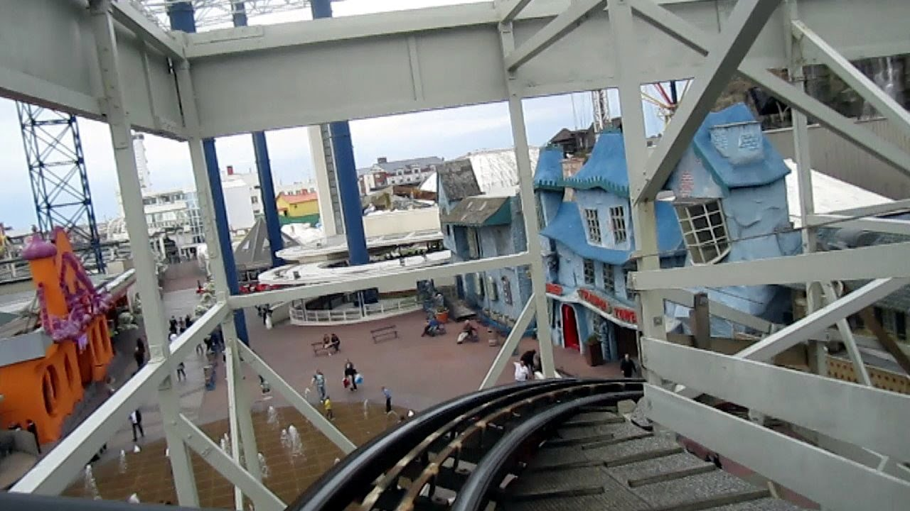 wild mouse on-ride hd pov pleasure beach, blackpool - youtube