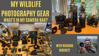WILDLIFE  PHOTOGRAPHY EQUIPMENT   Wildlife Photography Gear in the field