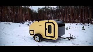 Teardrop trailer Киев кемпинг трейлер капля дом на колесах