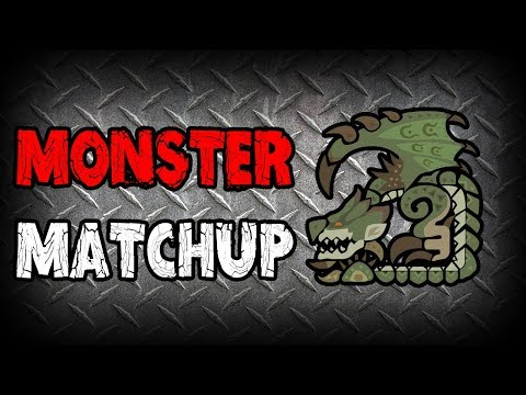 MONSTER MATCHUP - Rathian (Monster Hunter: World) thumbnail