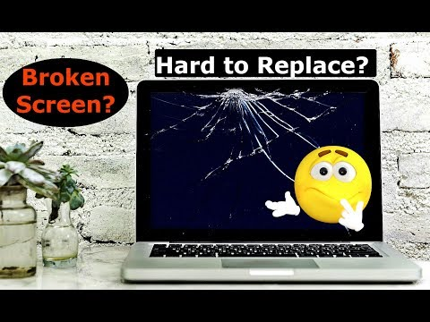 Is It Hard To Replace A Broken Laptop Screen?