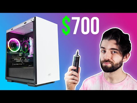 How to Build a Gaming PC! 🎮 $700 Budget PC Build GUIDE w/ Benchmarks! (2021)