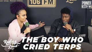 The Boy Who Cried Terps Explains His Name + Says His Dream Collab Didn