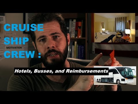 Cruise Ship Crew Travel | Hotels & Reimbursements