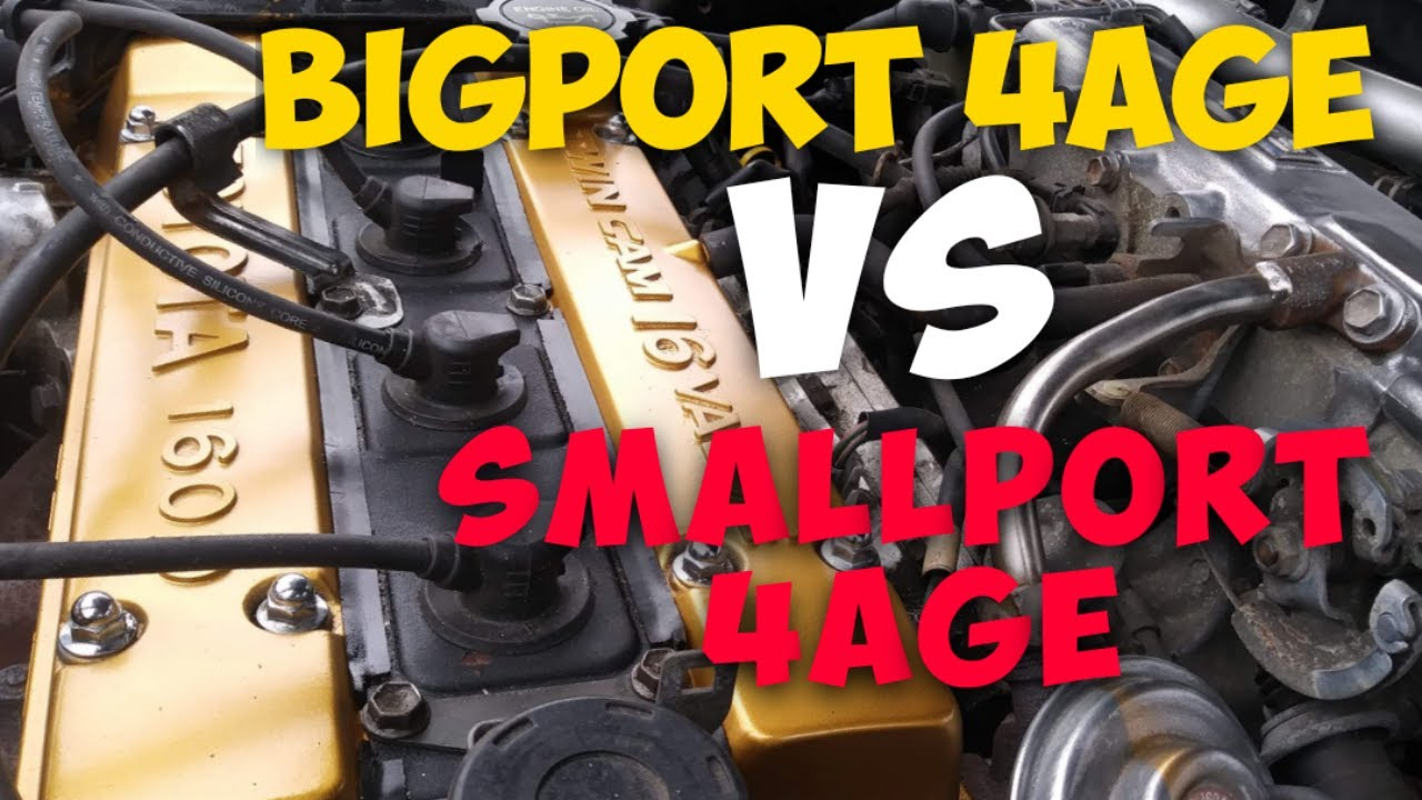 Download Differences Between the Bigport and Smallport 4AGE! Ae92 4ages!