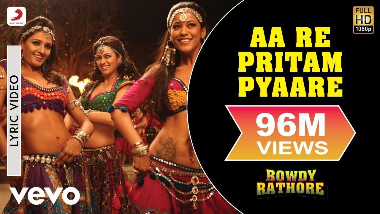 Aa Re Pritam Pyaare Lyrics Translation | Rowdy Rathore