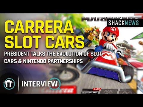 Carrera Slot Cars – President Talks the evolution of  Slot Cars & Nintendo Partnerships