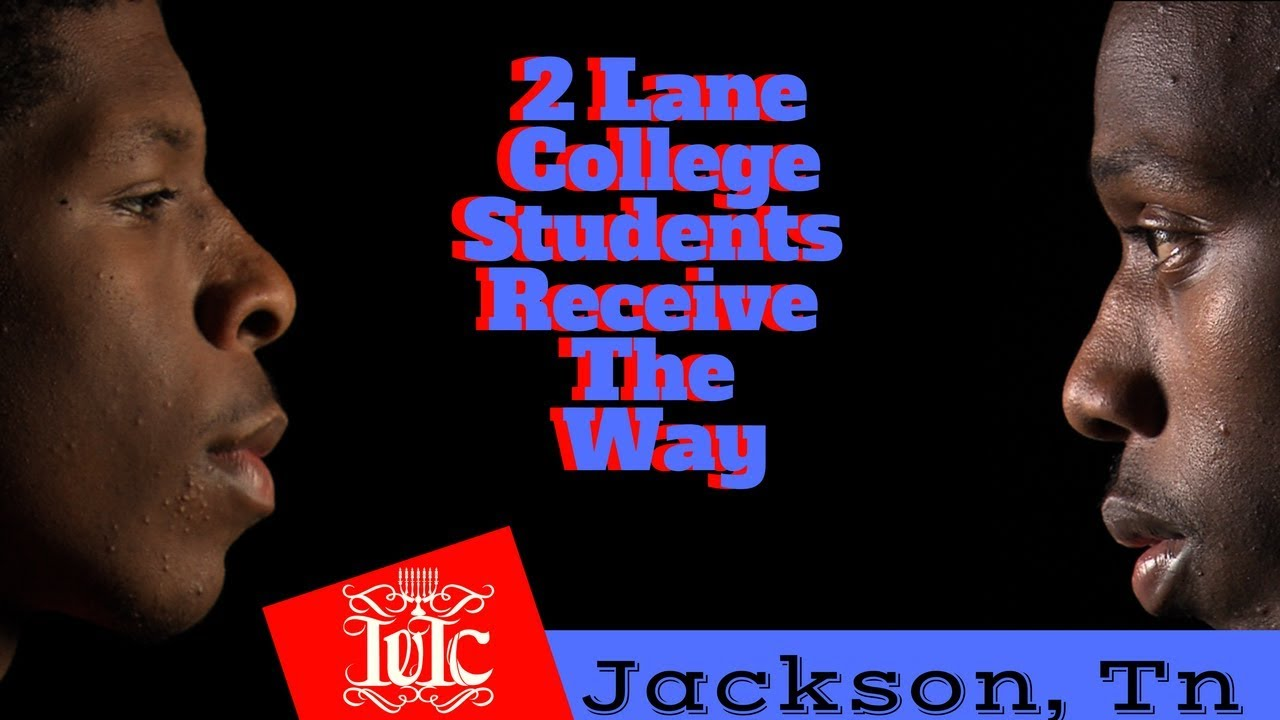 the israelites 2 lane college students receivingthe way jackson