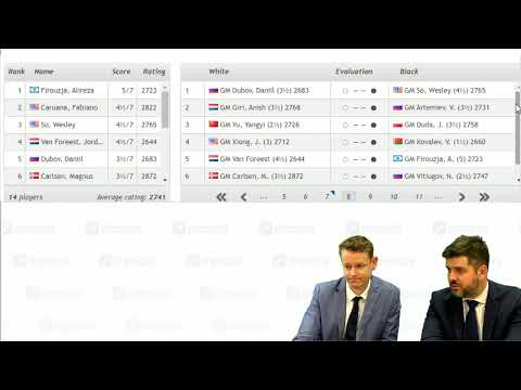 Tata Steel Chess 2020 Live Commentary | Round 7, Part 2