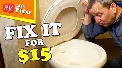 EASY RV Toilet Seal Replacement - Thetford RV Toilet