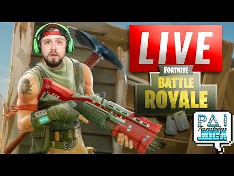[LIVE DIA 16/11/2017] VEM PRA LIVE DE QUINTA DO PAI - 45 WINS / 1800 KILLS  (Fortnite Battle Royale)